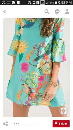 Pretty and free. Cute Summer Dresses, Trendy Dresses, Simple Dresses, Cute Dresses, Casual Dresses, Fashion Dresses, Girls Dresses, Shift Dresses, Western Dresses