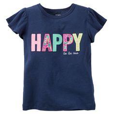 Happy Flutter-Sleeve Tee | Carters.com