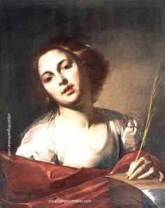 Bernardo Cavallino - Saint Catherine of Alexandria.