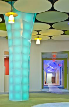 Column 5004 - For Commercial installations, it's great, but think about the possibilities for a kid's playroom!