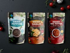 Spice Vietnam on Packaging of the World - Creative Package Design Gallery Spices Packaging, Pouch Packaging, Food Packaging Design, Packaging Design Inspiration, Sandwich Packaging, Cereal Packaging, Biscuits Packaging, Chocolate Packaging, Coffee Packaging