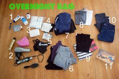 life @ 1521: packing your hospital bags: part 2- the overnight bag.