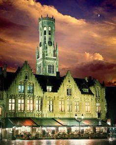 Emmy DE * Town Square, Brugge, Belgium © Jim  Zuckerman