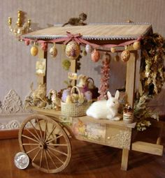 Inspiration for an Easter barrow / cart