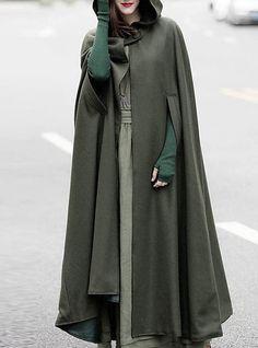Ankola Womens Warm Winter Coat Vintage Plaid Print Plus Size Hoodie Overcoat Fleece Lined Outwear Jacket with Pocket