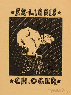 Jocelyn Mercier, Art-exlibris.net