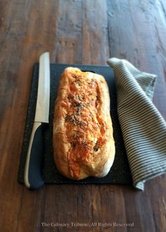 Black Pepper Cheddar Bread