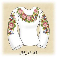 Заготовка к вышиванке женской Праздничная АК 13-43 Д