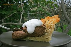 Phyllo Dough Chocolate Pie with a Touch of Coffee | Meze Theory