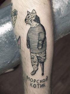 #sailorcat #tattoo
