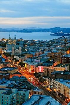 North Beach San Francisco. Little Italy. Great Italian food, and fun place to go out to bars and dancing.