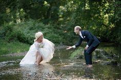 After Wedding mit Bettina, Peter & Simon im Rieder Stadtpark und anschließen am Bahnhof in Ried im Innkreis - Bilderfischer Ried