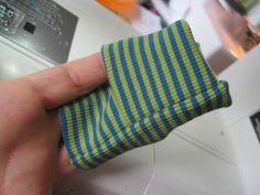klimperklein: Tutorial Umschlagbündchen Ärmel - auch für große Leute ♥