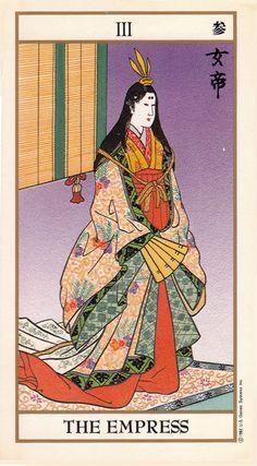 The Empress - Ukiyoe Tarot
