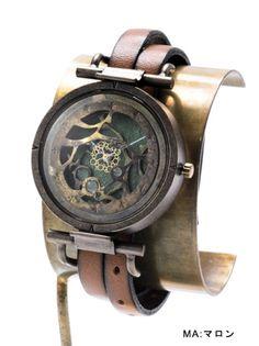 京都発手作り時計とアクセサリーのお店。日本製機械式時計、クオーツ時計、真鍮素材のアクセサリー。