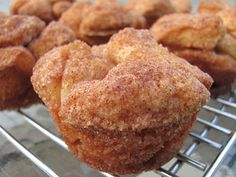 Monkey Bread Muffins - Quick!  Uses Biscuits from a can!