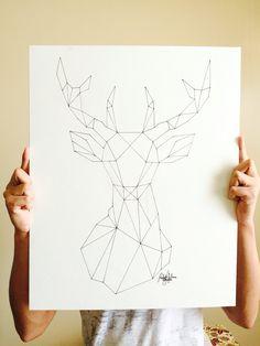 Geometric Deer (Recreated) Más