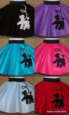 Toddler Prancing Poodle Skirt