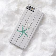 Rustic Starfish Weathered Wood Barely There iPhone 6 Case - click/tap to personalize and buy #rustic #starfish #distressed #iphonecase #iphone #beachgirl #beach #white #Aqua #woodlook #beachtheme #coastalliving #coastal