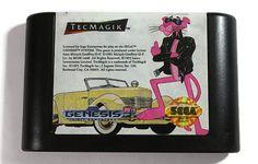 Pink Panther Goes to Hollywood Sega Genesis 1993 by Retro8Games