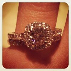"""My new #engagementring"""