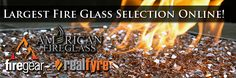"""The first place to start with any fireplace or fire pit project is to ask yourself """"What design look am I going for?"""" and """"How do I achieve that goal accurately and efficiently?"""" For any new propane or natural gas burner project, the desired aesthetic must be carefully considered. Different styles of fireglass offer different finished results. With that in mind, here are some brief descriptions of the different types of fire glass we offer."""