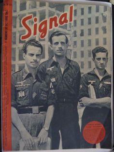 REVISTA ALEMANA SIGNAL OCTUBRE 1943 . VOLUNTARIOS DE LA DIVISION AZUL in Coleccionismo, Artículos militares, Revistas, documentos y libros | eBay