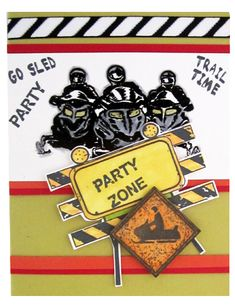 Snowmobile Xing - Party Zone