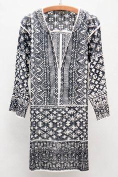 Étoile Isabel Marant Black Bloom Dress