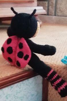 Wreaths, Halloween, Crochet, Home Decor, Ladybug, Decoration Home, Room Decor, Chrochet, Crocheting