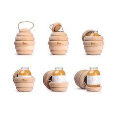 Bzzz Premium honey by Backbone Branding, via Behance