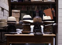 hats being stretched, almost all hats will shrink with time, mostly from rain, heat and perspiration, hence we stretch