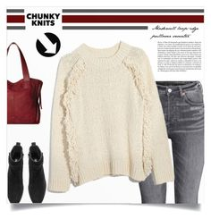 """Chunky Knits"" by tawnee-tnt ❤ liked on Polyvore featuring Relic, Whiteley and chunkyknits"