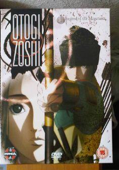 Otogi Zoshi - Vol. 1 - Legend Of The Magatama (DVD) Manga #uniqbeats #ebay #music