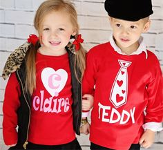 Personalized Valentine Tees Valentines For Boys, Valentines Day Shirts, Valentine Crafts, Holiday Crafts, Personalized Valentine's Day Gifts, Personalized Shirts, Vinyl Shirts, Kids Shirts, Kids Outfits
