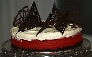 A Christmas cheesecake recipe is a natural to serve for holiday dessert. this Red Velvet Cheesecake makes a beautiful presentation for Christmas or Valentines Day.