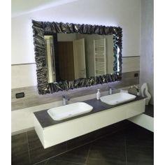 CORNICE design FERRO BATTUTO per Specchio o Foto con o senza LED . Realizzazioni Personalizzate . 850