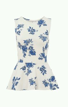 I really want this floral peplum!!!