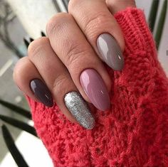 Nail Designs and Ideas 2019 Any lady who cares about how she looks thinks what manicure will best fit the chosen outfit and what types of nails are in the trend at a time. Love Nails, Swag Nails, Pink Nails, Pretty Nails, Nailed It, Pink Manicure, Nails Tumblr, Nagel Gel, Types Of Nails