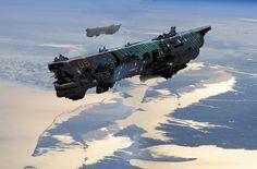 Cargo ship, Oleg Danilenko on ArtStation at https://www.artstation.com/artwork/cargo-ship-8f028f6a-8f84-4fa7-b450-d4c64c89faff