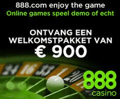Wie zich als nieuwe speler aanmeldt bij 888 casino Nederland krijgt een enorme mooi welkomspakket! http://nl.888.com/