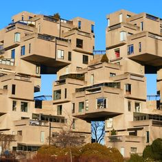 Habitat 67, Montreal Creeped Out, Montreal, Habitats, Multi Story Building