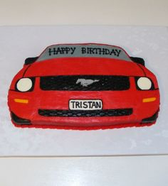 Mustang birthday cake The Big 40 Pinterest Mustang Birthday