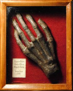 The Evil Hand of Glory - step by step tutorial on Craftster. Could make many things this way! Great for Halloween!