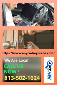 Get the fastest, most reliable and cheapest locksmith services in Tampa with the Any Car Key Team. Contact now!