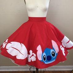 Make It Pink Circle Skirt / Sleeping Beauty Dress / Disney   Etsy Sleeping Beauty Dress, Rag Skirt, Full Circle Skirts, Disney Dresses, Pink Sequin, Gathered Skirt, Lilo And Stitch, Disney Stuff, Amazing Women
