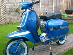 Lambretta GP restored