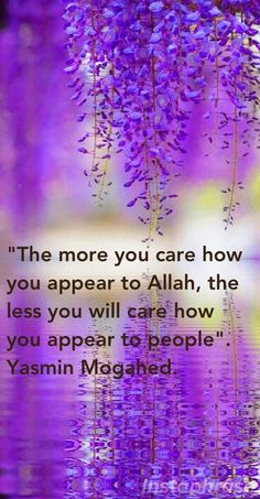 Allah is who matters