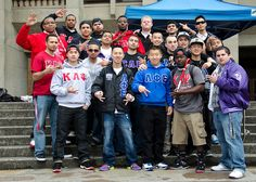 Betas, Kappas, and Lambdas sell out their pre-sale tickets to their #Mayhem 2012 spring venue party. This was the first time where historically underrepresented Greek houses from different councils (National Pan-Hellenic Council and the United Greek Council) collaborated to throw a social event for the college community. Photo credit: @uwstudentlife