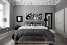 Las 14 Mejores Imágenes De Dormitorios Gris Y Blanco En 2019